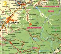 Карты крыма топрографические карты