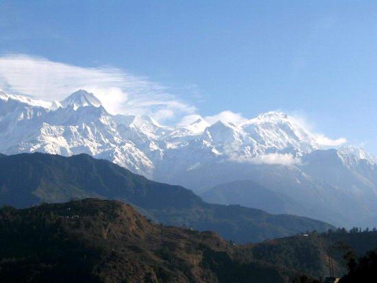 Аннапурна трекинг в непале горное