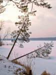 Первый день лыжного тура в Карелии на выходные