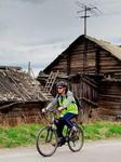 Велотур выходного дня в Карелии. Группа на маршруте велотура.